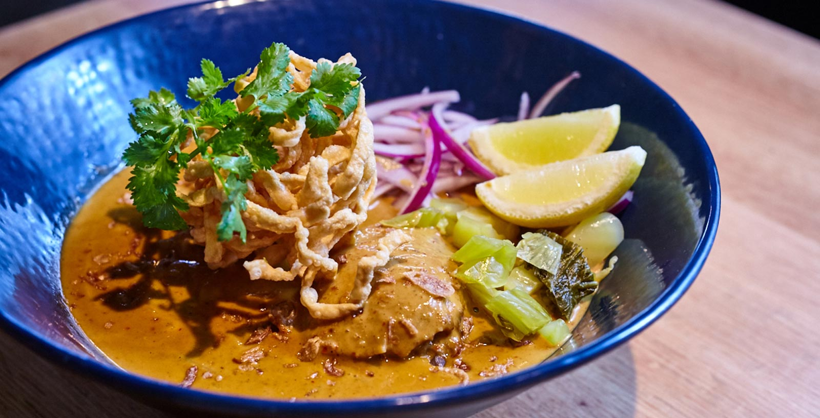 Khao Soi, noodle in curry broth