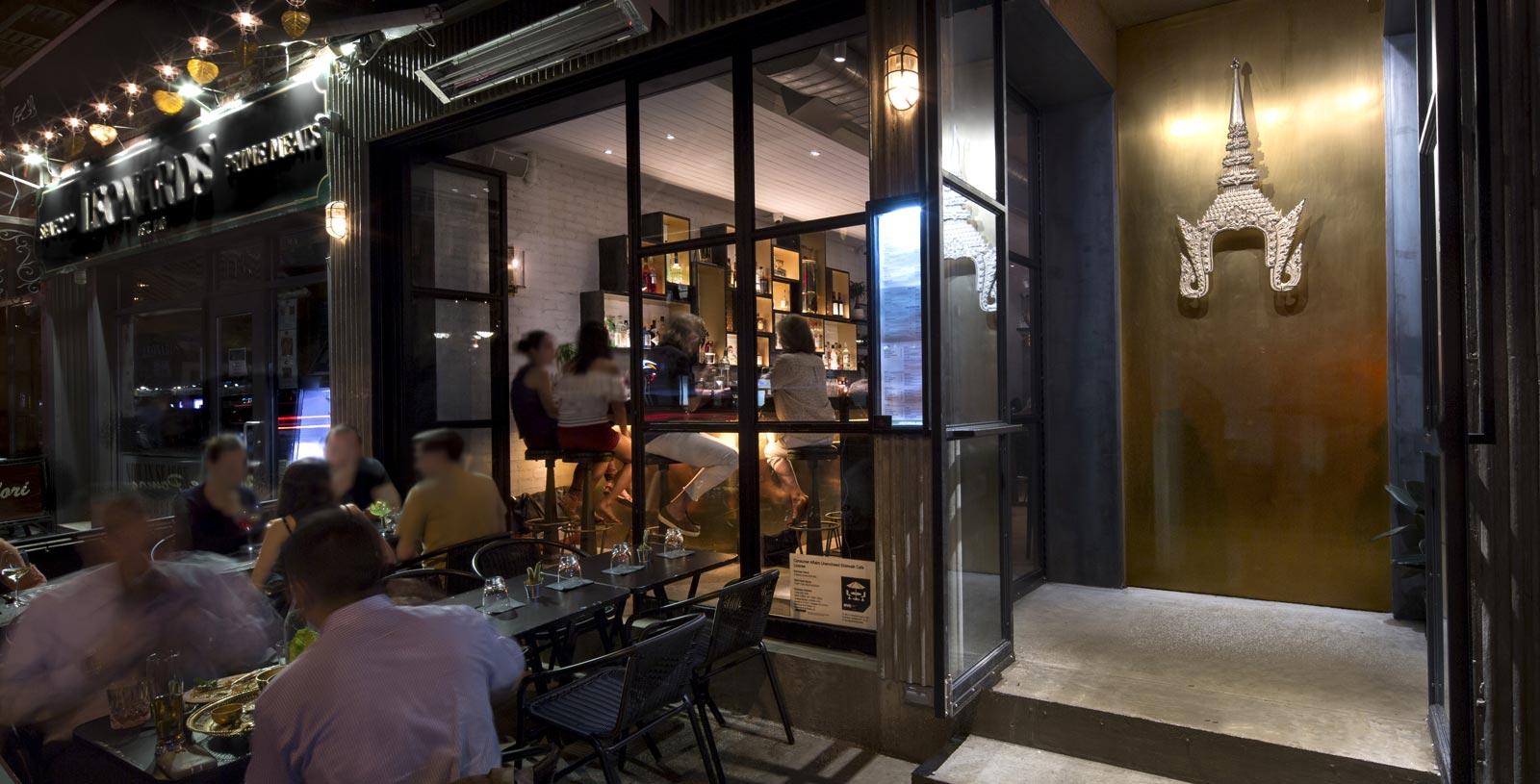 Entrance of THEP Thai Restaurant